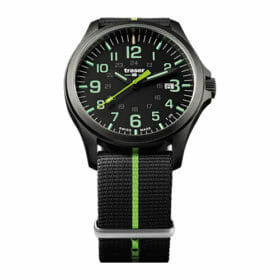Traser P67 Officer Pro GunMetal Black/Lime – 107426