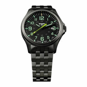 Traser P67 Officer Pro GunMetal Black/Lime – 107869