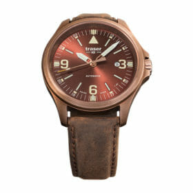Traser P67 Officer Pro Automatic Bronze Brown – 108073