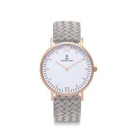 Kapten & Son Campina Grey Woven Leather – CA00A1002D12A