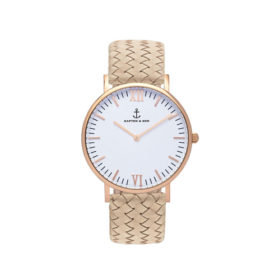Kapten & Son Campina Sand Woven Leather – CA00A1037D12A