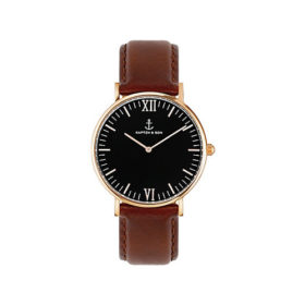 Kapten & Son Campina Black Brown Leather – CA00B0103D11A
