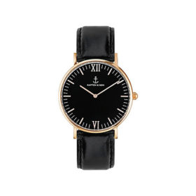 Kapten & Son Campina All Black Leather – CA00B0199D11A