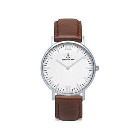 Kapten & Son Campina Silver Brown Leather – CA03A0103D11A