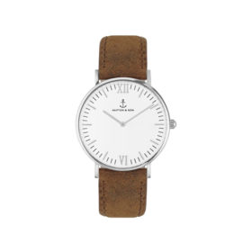 Kapten & Son Campina Silver Brown Vintage Leather – CA03A0203D11A