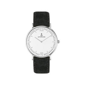 Kapten & Son Campina Silver Black Vintage Leather – CA03A0299D11A