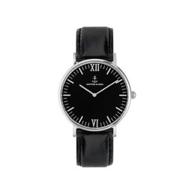 Kapten & Son Campina All Black Silver Leather – CA03B0199D11A