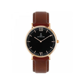 Kapten & Son Campus Black Brown Leather – CB00B0103F11A