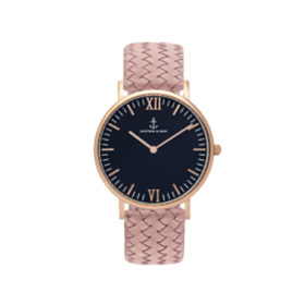 Kapten & Son Campus Black Rose Woven Leather – CB00B1031F12A