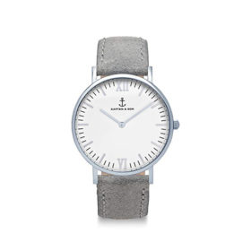 Kapten & Son Campus  Silver Grey Vintage Leather – CB03A0202F11A