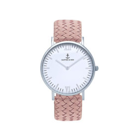Kapten & Son Campus Silver Rose Woven Leather – CB03A1031F12A