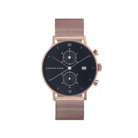 Kapten & Son Chrono Black Mesh – CD00B0725F22A