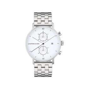 Kapten & Son Chrono Silver Steel – CD03A0826F01A