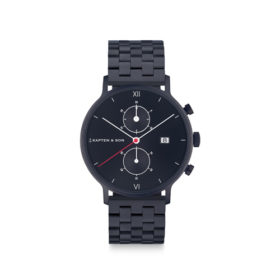 Kapten & Son Chrono Black Midnight Steel – CD07B0833F01A