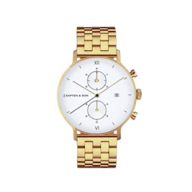Kapten & Son Chrono Gold Steel – CD09A0840F12A