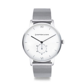 Kapten & Son Heritage Silver Mesh – CF03A0726F22A
